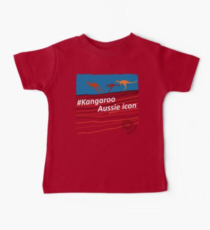 #Kangaroo - Aussie Icon Baby Tee