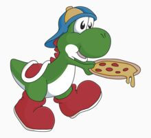 Yoshi & Pizza by billistore