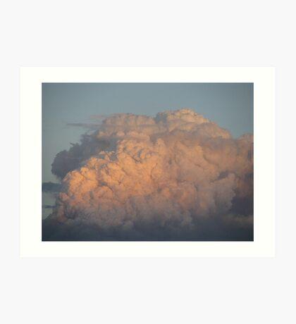 bushfire smoke Art Print
