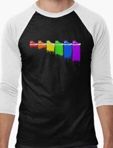 Color Kicks Men's Baseball ¾ T-Shirt
