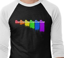 Color Kicks Men's Baseball ¾ T-Shirt