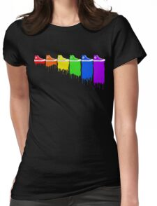 Color Kicks Womens Fitted T-Shirt