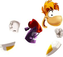 Rayman Running (Legends) by bubblelicious