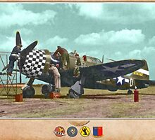 Republic P-47 Thunderbolt Repair by A. Hermann