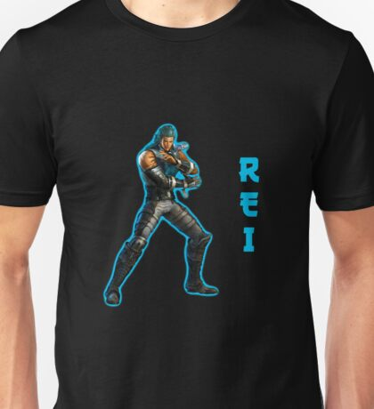 Hokuto no Ken: Rei with aura Unisex T-Shirt