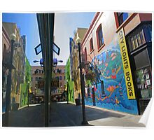Jack Kerouac Alley Way Poster