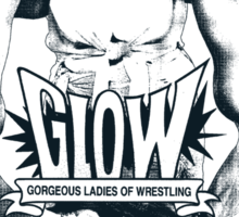 Gorgeous Ladies Of Wrestling (Good Girls - Style A) Sticker