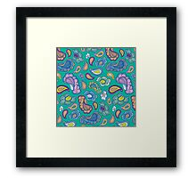 BP 31 Paisley Framed Print