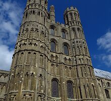 The West Tower, Ely Cathedral by wiggyofipswich