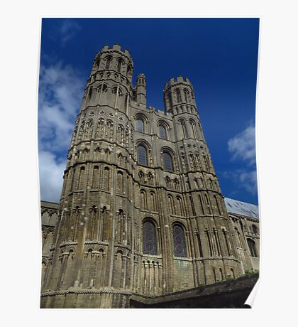 The West Tower, Ely Cathedral Poster