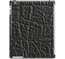 Black rubber side of an guitar amplifier iPad Case/Skin
