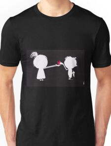 Jenny gives her heart away Unisex T-Shirt
