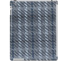 White, blue and black nodes iPad Case/Skin