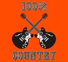 100% Country Music Kids Tee