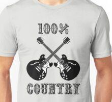 100% Country Music Unisex T-Shirt