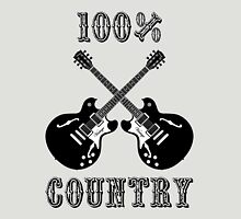 100% Country Music Unisex T-Shirt