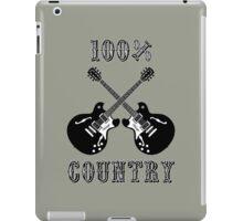 100% Country Music iPad Case/Skin