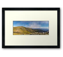 The Main Track Framed Print