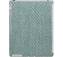 Green upright strings and gray strins iPad Case/Skin