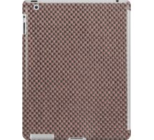 Brown strings and gray base iPad Case/Skin