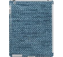 Furry blue strings and blue base iPad Case/Skin