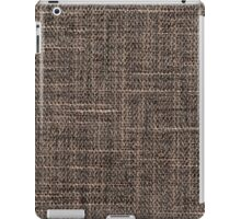 Brown strings and gray strings iPad Case/Skin