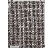 White, gray and thin golden strings iPad Case/Skin