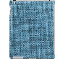 Light blue and black strings iPad Case/Skin