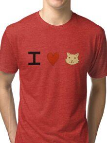 Cats- It's Cats  Tri-blend T-Shirt