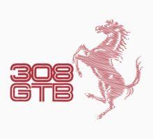 308gtb t-shirt  by verde57