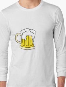 Beer white Long Sleeve T-Shirt