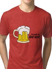 Beer black Tri-blend T-Shirt