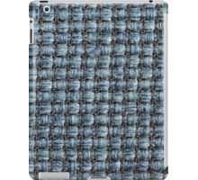 Thick blue strings and thin black strings iPad Case/Skin
