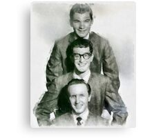 Buddy Holly and the Crickets by John Springfield Canvas Print