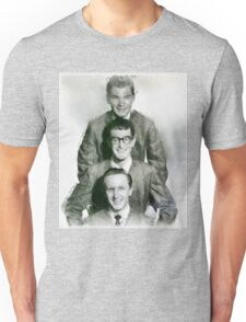 Buddy Holly and the Crickets by John Springfield T-Shirt
