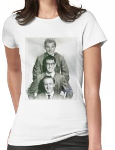 Buddy Holly and the Crickets by John Springfield Womens Fitted T-Shirt