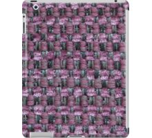 Violet, white and black strings iPad Case/Skin