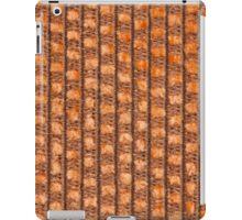 Orange string base with orange fur iPad Case/Skin