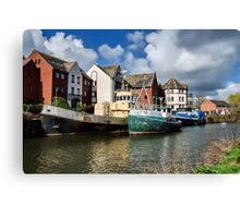 Old Boats At Exeter Canvas Print
