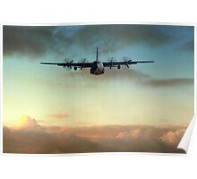 C-130E Inbound Poster