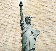 Liberty Loves The Constitution by morningdance