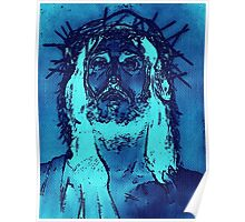 Christ with the blues Poster