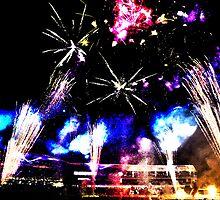 Royal Easter Show Fireworks 2014 HDR by jasonkryger