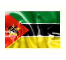 Mozambique Flag Art Print