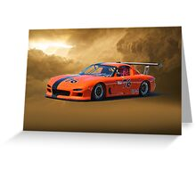 SCCA MAZDA GT2 Greeting Card
