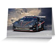 SCCA Corvette GT2 Greeting Card