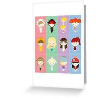 Chibi Zodiac Greeting Card