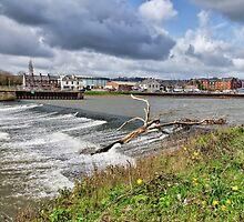 Trews Weir - Exeter by Susie Peek