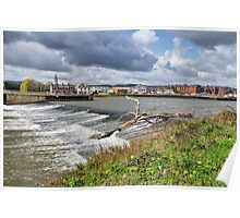 Trews Weir - Exeter Poster