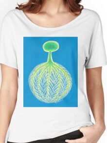 Tree,Roots and World. Women's Relaxed Fit T-Shirt